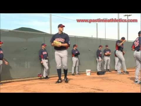 Justin Masterson Slow Motion Pitching Mechanics - Baseball Cleveland Indians MLB Tips Drills