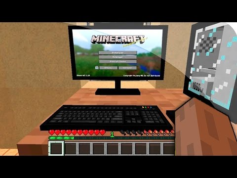 MİNECRAFT'IN İÇİNDEN MİNECRAFT OYNAMAK¿