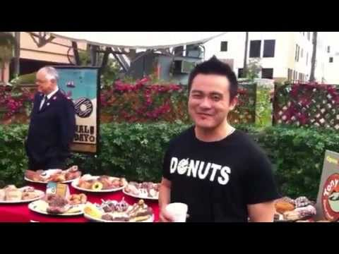 National Donut Day at KTLA 5 News with Adrian Zaw