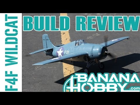 F4F Wildcat BlitzRCWorks   Build Review   Warbird & Military