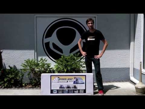 SpeedWay Shelter Motorcycle Cover Unboxing and Review at Euro Cycles of Tampa Bay