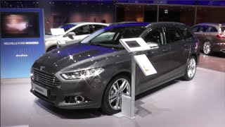 Ford Mondeo Turnier 2015 In detail review walkaround Interior Exterior