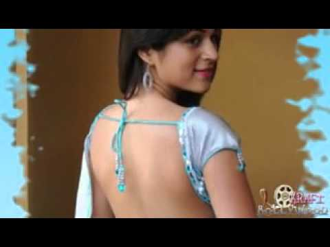 Telugu Actress Shraddha Das Hot In Cool Blue Saree video