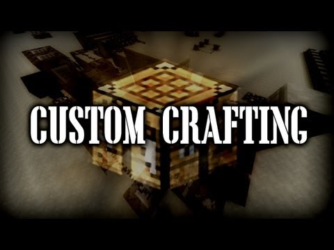 Minecraft - Custom Crafting Recipes