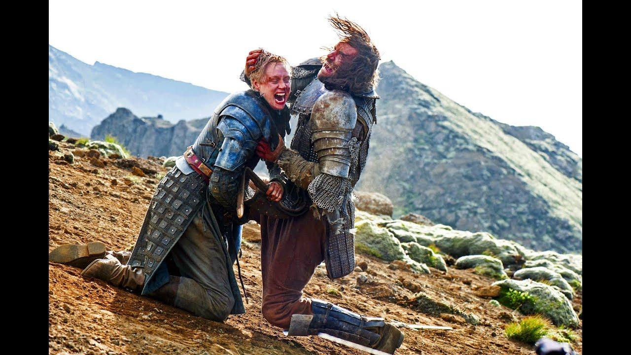Game Of Thrones Clegane Brienne de Tarth VS Sa...