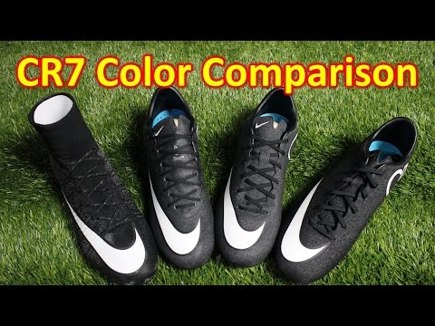 Nike CR7 Gala Glimmer Mercurial Colorway Comparison (4K)