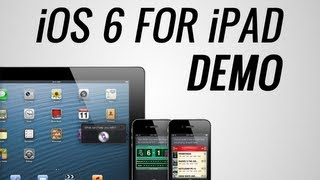 iOS 6 For iPad DEMO