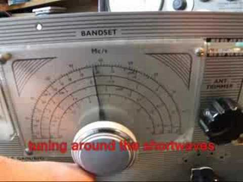 Vintage Amateur Radio Codar CR-66