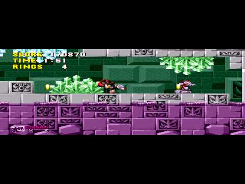 Shadow the Hedgehog - Scrap Brain Zone Act 3 - Vizzed.com GamePlay (rom hack) - User video