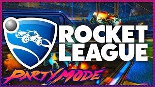 Kinda Funny Plays ROCKET LEAGUE! - Party Mode