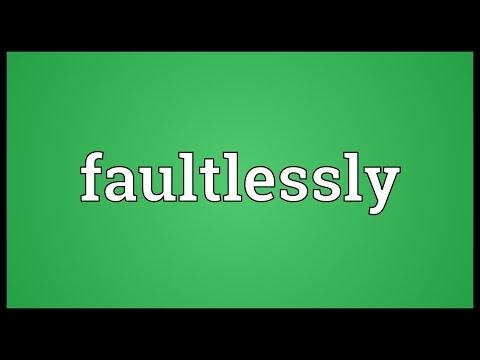 Header of faultlessly
