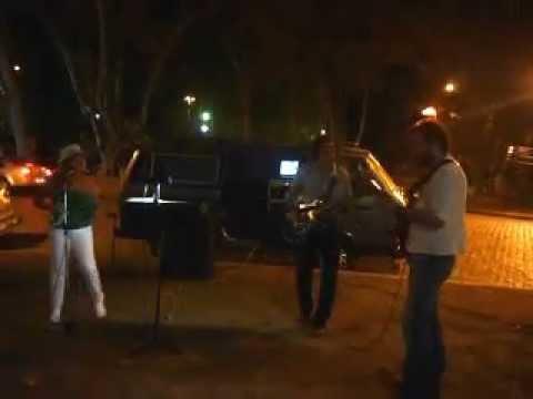 Rock Callejero - Jesús Amaya y Richard Coll... en las calles de Rosario.
