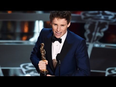Eddie Redmayne's Best Actor Oscar 2015 Acceptance Speech Makes Us Cry