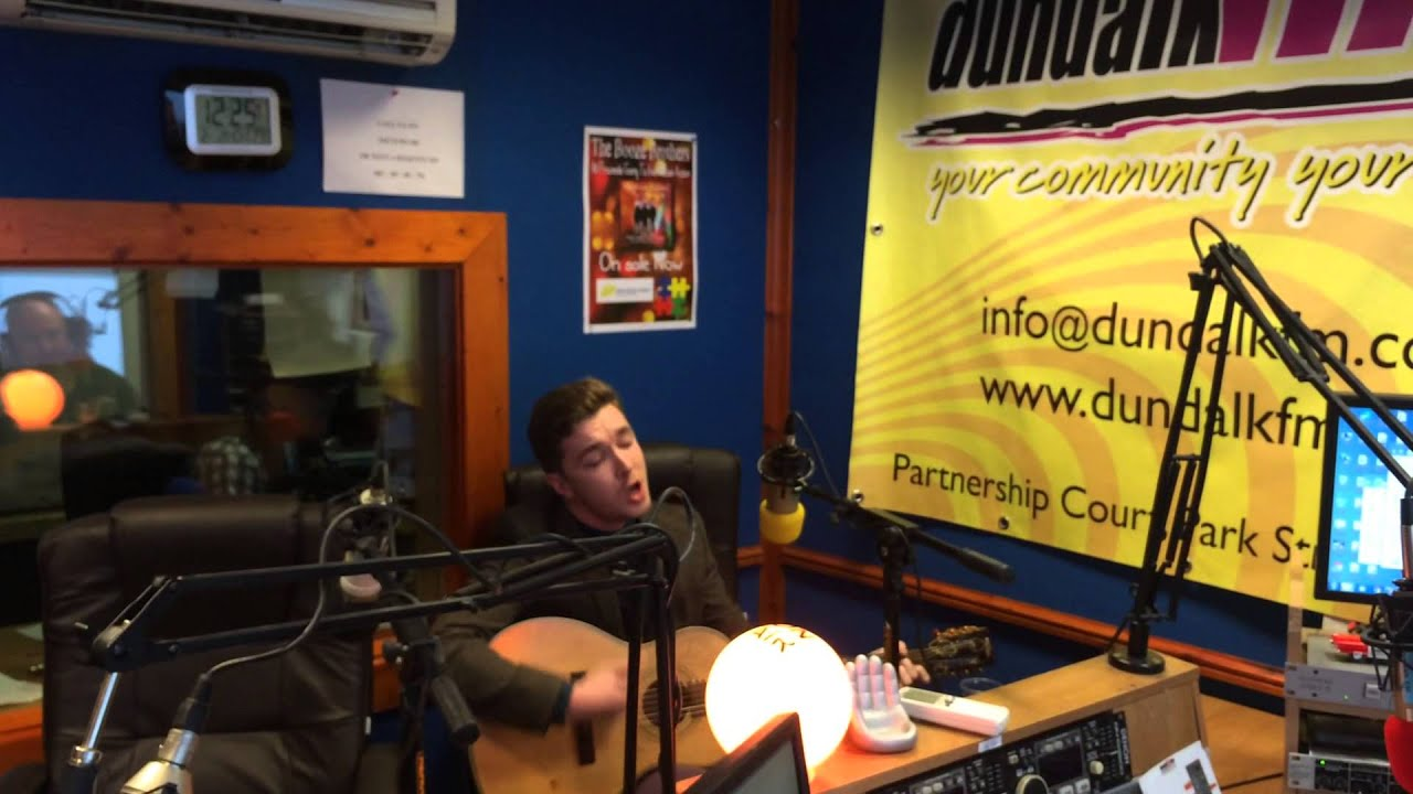 David Keenan co-presenter of First Cut on Dundalk FM