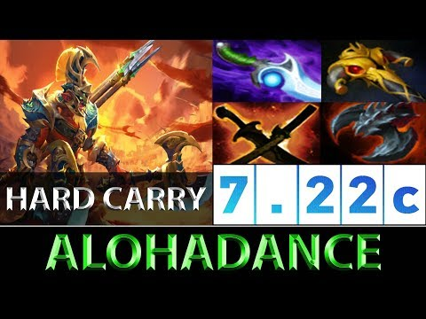 ALOHADANCE [Troll Warlord] Full Hard Carry Mode ► Dota 2 7.22c