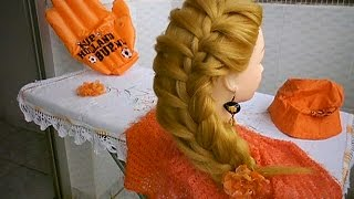 Dutch Braid  /  Trança Holandesa (passo a passo/ step by step)