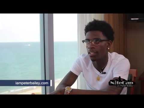 Rich Homie Quan Talks James Patterson & Faith  W peter Bailey video