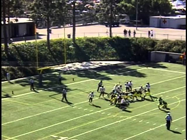 Golden West College Football vs San Diego Southwestern Part 1 10-29-11