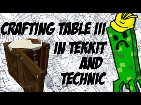How To Install Crafting Table 3 Into Tekkit/Technic (Minecraft)