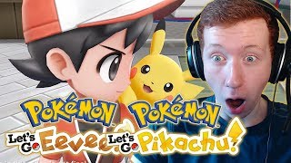 MAIN SWITCH GAMES IN 2018! - Pokemon Lets Go Pikachu & Eevee Trailer Reaction!