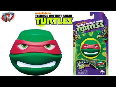 Nickelodeon Teenage Mutant Ninja Turtles Splat Flyer Toy Review. Tech 4 Kids