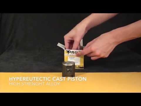 ProX Racing Parts Unboxing 2-Stroke Piston