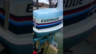 Evinerude 25hp electric start