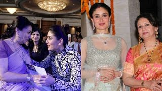 Kareena Kapoor And Sharmila Tagore Candid Pictures