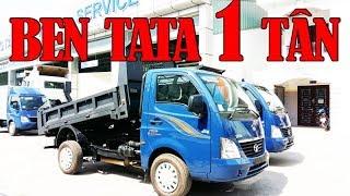 [Xe Tải Tata] Xe Ô Tô Tải Tự Đổ Tata/ Xe Ben Tata 990kg (1 Tấn) Máy Dầu Siêu Tiết Kiệm
