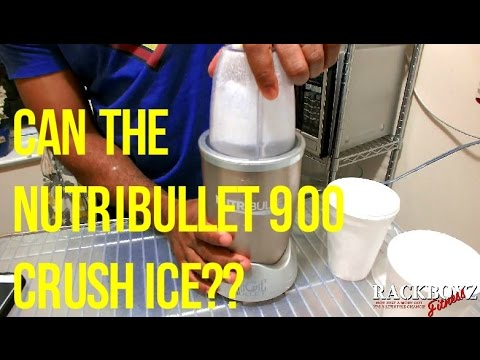 Countertop Ice Maker Consumer Reports : NUTRIBULLET 900 ICE CRUSH TEST & CONSUMER REPORT WARNING How To Save ...