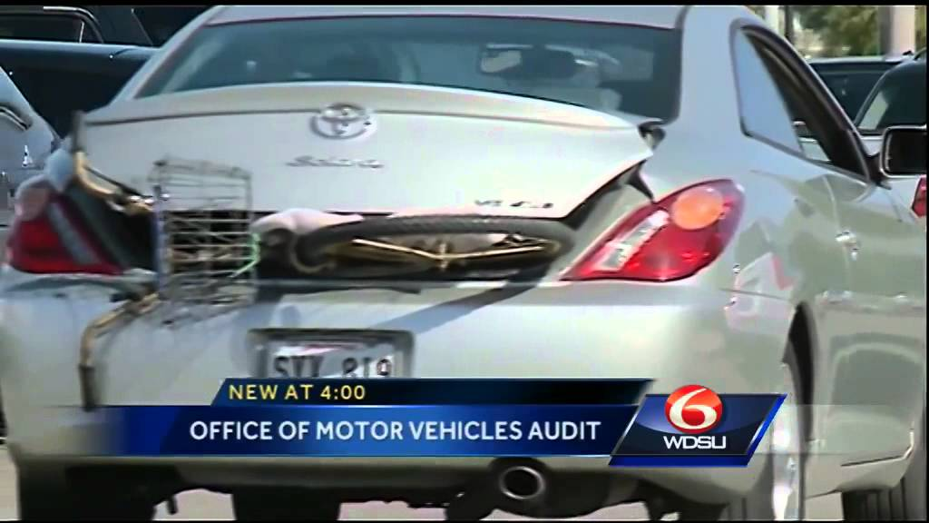 State auditor report shows issues at louisiana office of for Office of motor vehicles new orleans la