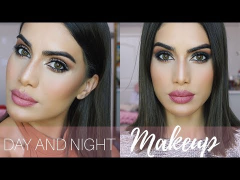 DAY and NIGHT Makeup using NIGHTLIFE
