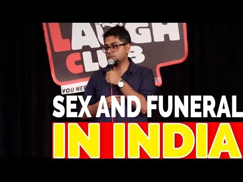 INDIAN STAND UP COMEDY SEX AND FUNERAL BY ABIJIT GANGULY || STAND UP COMEDY INDIAN 2017 thumbnail