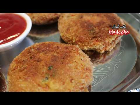 Tandoori Chicken Potato Cutlets Recipe - How To Make Tandoori Cutlets Easy  by (COOK WITH MADEEHA)