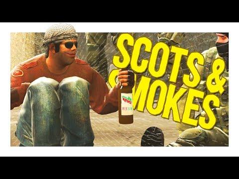 CS:GO Funny Moments │ SCOTS & SMOKES