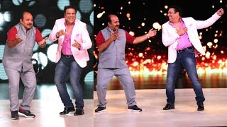 Dancing Uncle DANCES With His Favorite Govinda On Madhuri Dixit Dance Show Dance Deewane