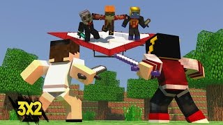 Minecraft: SKY WARS DELTA - 3 CONTRA 2 DESAFIO MALUCO! ‹ AM3NIC ›
