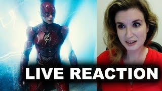 Justice League Comic Con Trailer Reaction