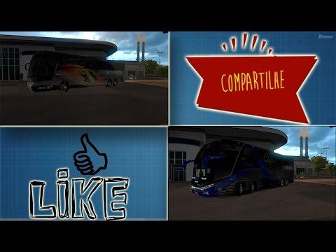 Euro Truck Simulator 2: MOD de ônibus. SHOW! 1.25 e 1.26