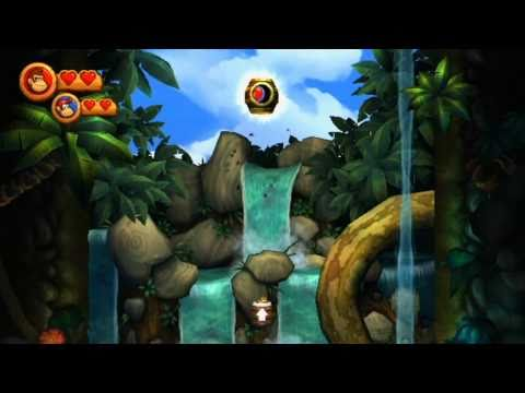 how to play 2 player donkey kong country returns 3ds