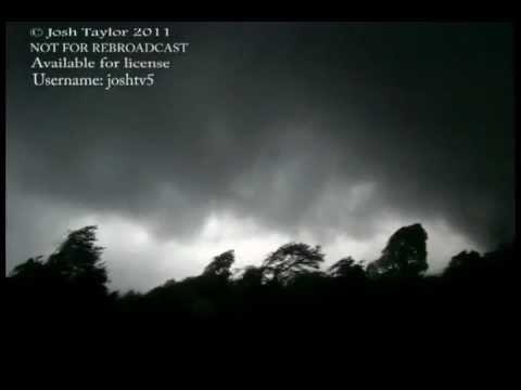 Tornado F5 Very Close Roaring P April 27th 2011 Super