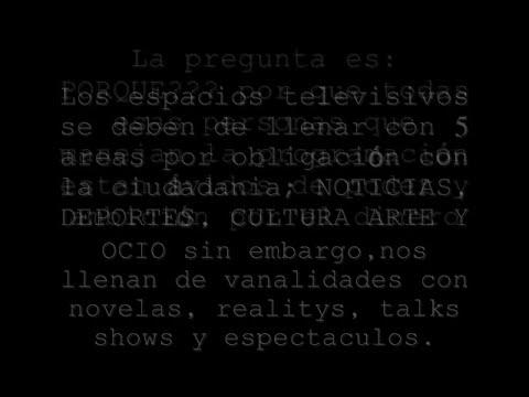 Fraude Televisivo en Mexico
