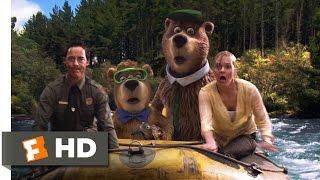 Yogi Bear (10/10) Movie CLIP - Surviving the Rapids (2010) HD