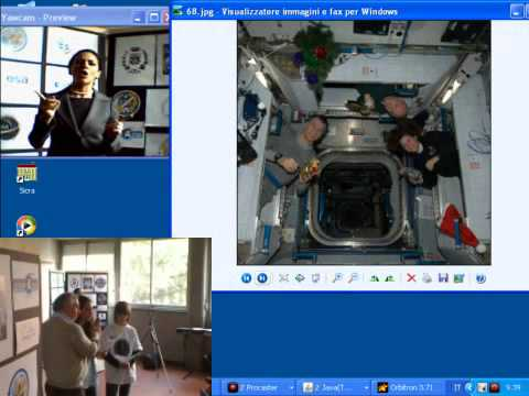 ARISS School Contact - EU182 - Villasanta (MB) - 10/02/2011