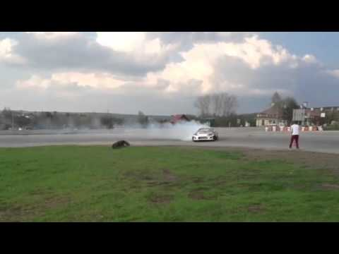 TOYOTA GT86 Przygoński Drift Edition first run (0,5 bar boost)