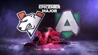 Virtus.pro vs Alliance, EPICENTER Major, bo3, game 1 [Casper & Inmate]