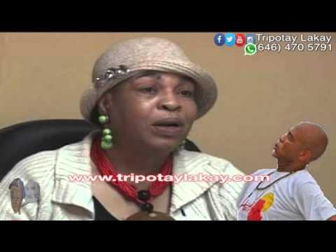 Liliane Pierre Paul Radio Kiskeya - Repons pou Michel Martelly