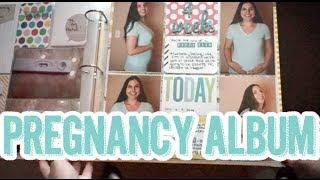 439: Pregnancy Project Life Style Scrapbook Album Share - Part 1