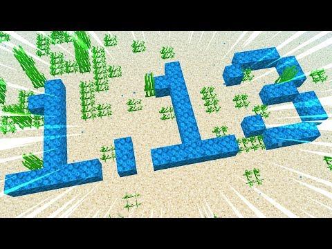 40 Updates NEW in Minecraft 1.13