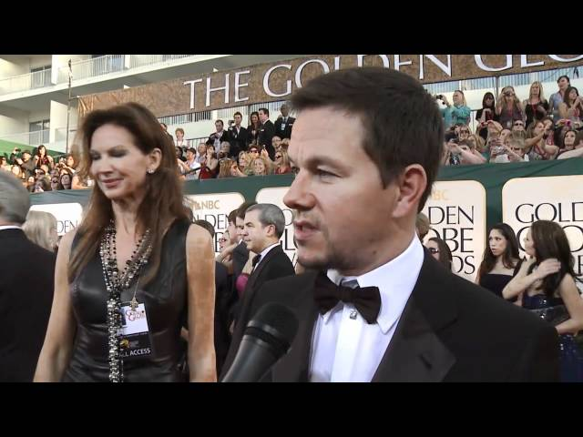 Golden Globes Red Carpet Interviews:  Mark Wahlberg, Robert Pattinson